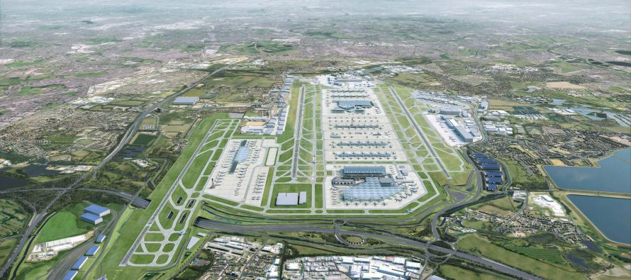 London Heathrow masterplan for third runway and new terminal revealed