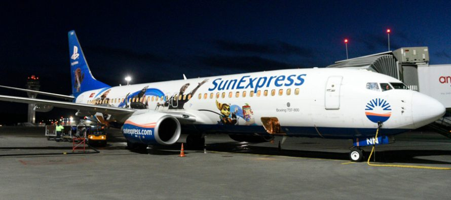 SunExpress exercises options for 10 Boeing 737 MAX 8