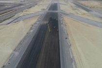 Istanbul Airport's third runway under construction