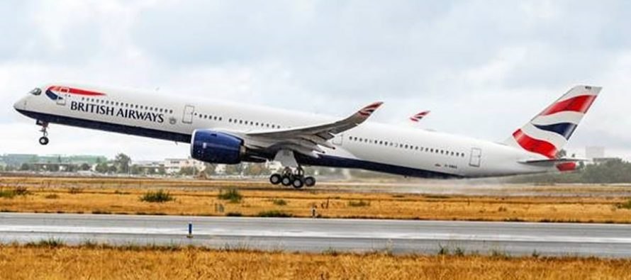 British Airways becomes first operator of A350-1000 under IAG banner
