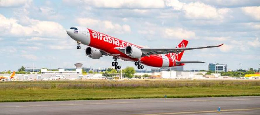 Air Asia receives its first A330neo