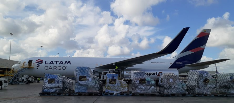 LATAM Group activates the humanitarian relief plane to aid following Hurricane Dorian