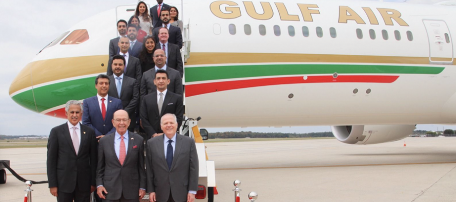 Bahrain's Gulf Air receives seventh Boeing 787-9 Dreamliner