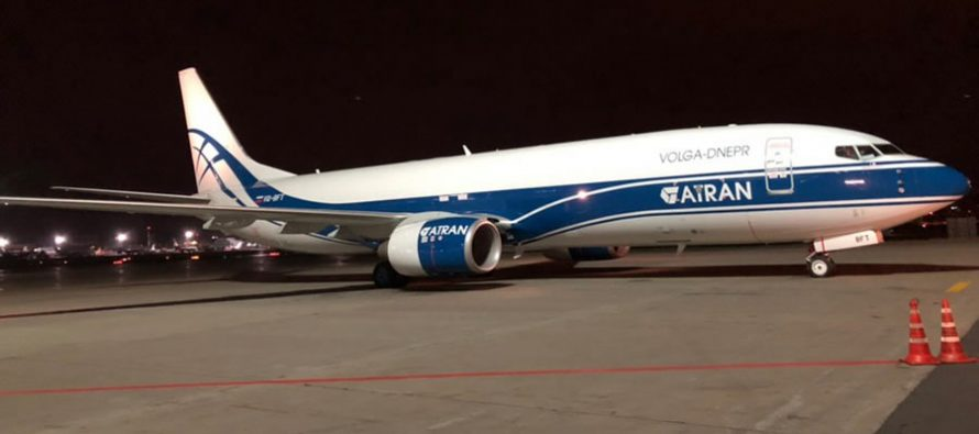 Russia's ATRAN takes delivery of second 737-800BCF aircraft