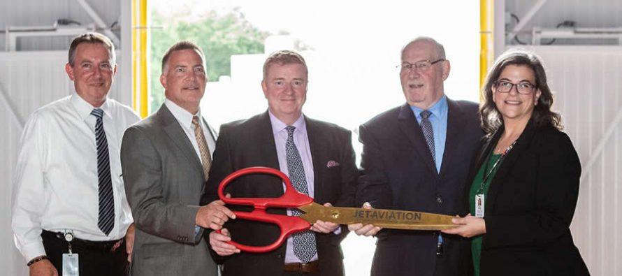 Jet Aviation opens $25 million hangar in New Jersey