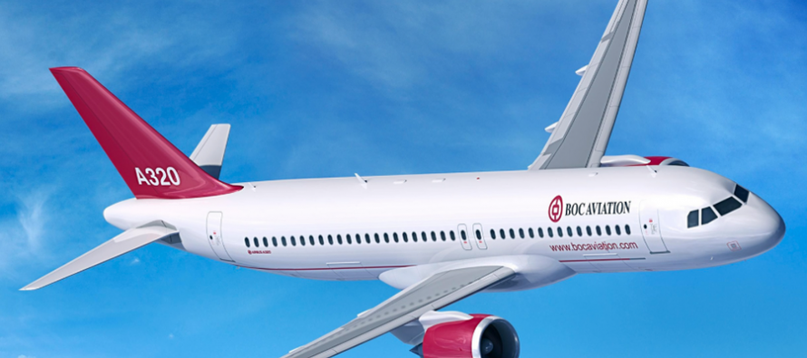 Air China takes delivery of first of 10 A320neo from BOC Aviation