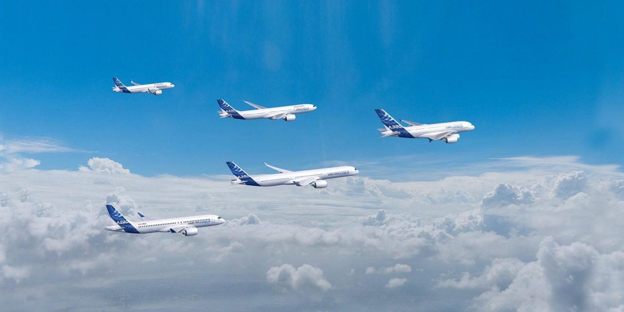 Airbus announces September orders and deliveries
